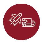 Transporte NacionalTransporte InternacionalFrete Aéreo