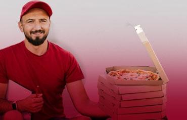 tuflog delivery entregador de comida profissional